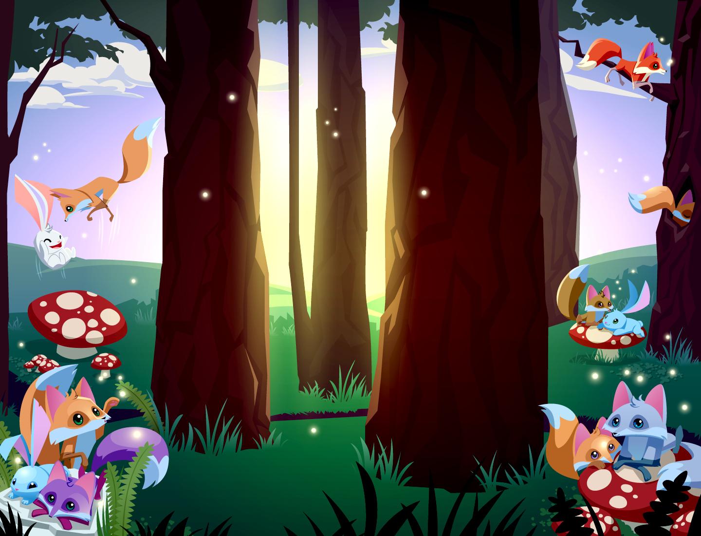 Juniper 39 s animal jam grove animal jam wallpapers - Animal jam desktop backgrounds ...